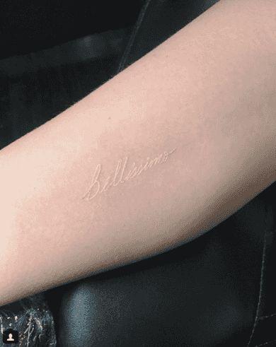 给大家推荐一些比微刺青还要低调的「白色微刺青」,若隐若现的唯美感超级适合女生!