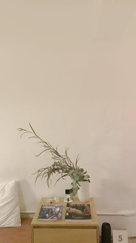 极简系:【韩风WALLPAPER · 室内实景桌布】简约原木色风格韩风家居室内布置