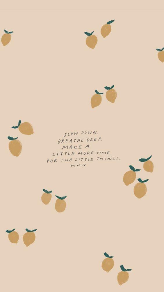 Slow down, breathe deep. Make a little more time for the little things. 放慢脚步深呼吸;腾出一点时间,去留意那些藏在三餐四季里细碎的小美好吧~