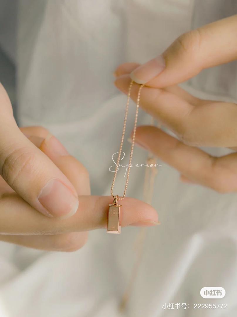 小金条项链