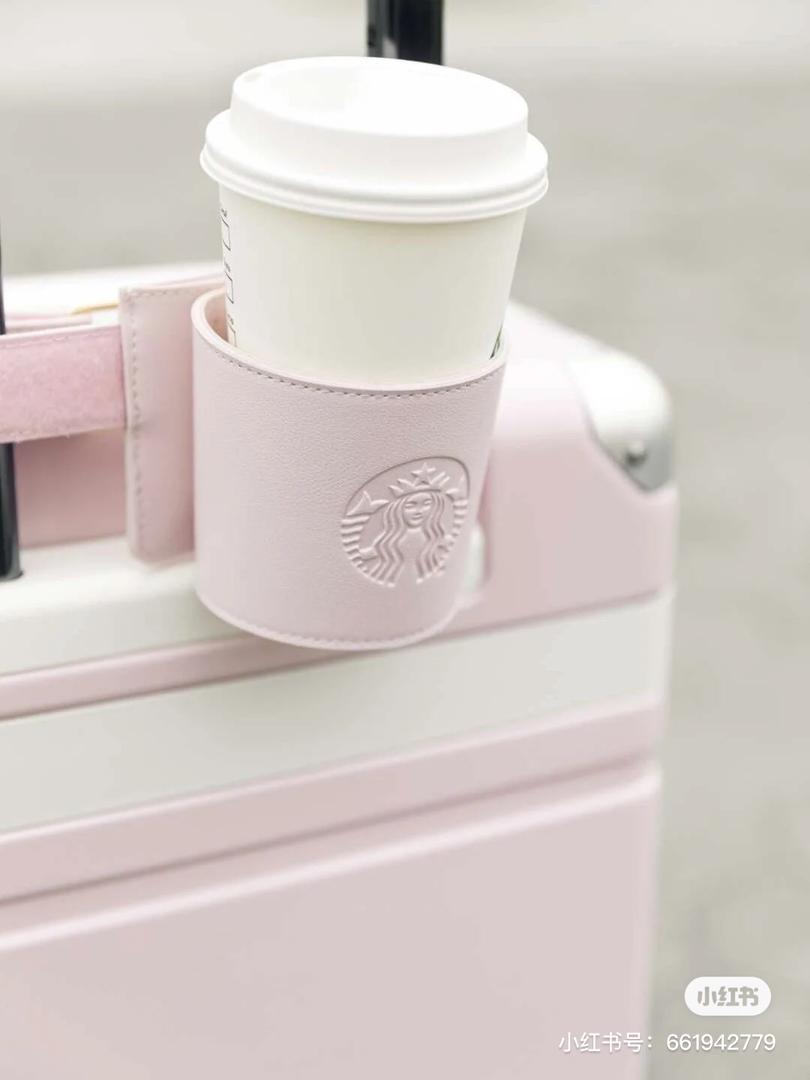樱花粉 行李箱 15