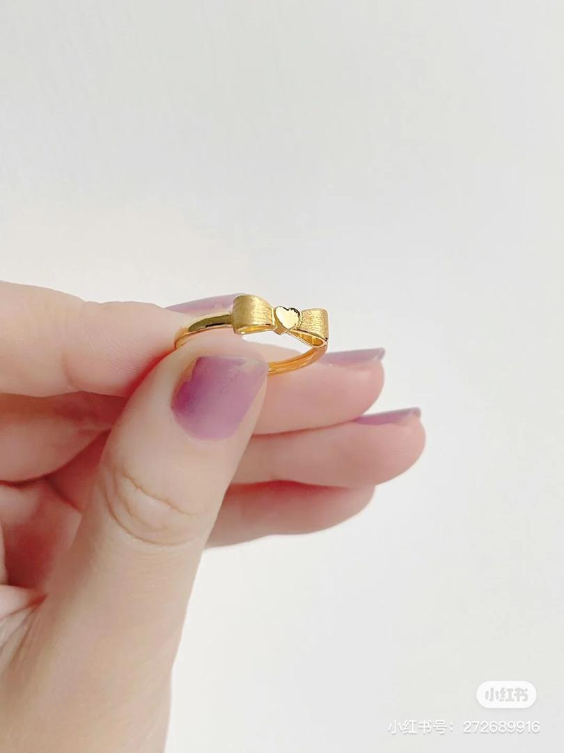 金蝴蝶戒指 6